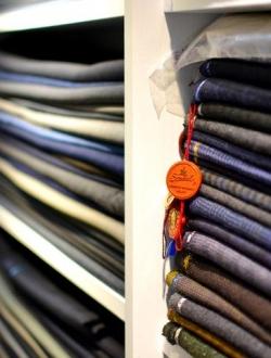 除了裁縫手工, 布料選擇也非常重要