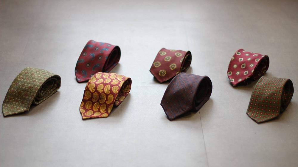 【 領帶 】 何謂三褶、五褶、七褶和九褶?