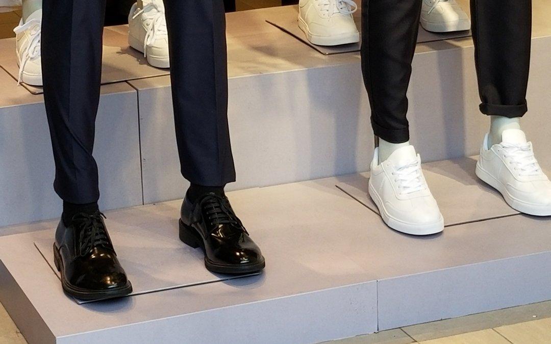 【 西裝 波鞋 】 專業形象設計師  對這配搭有以下的評價…
