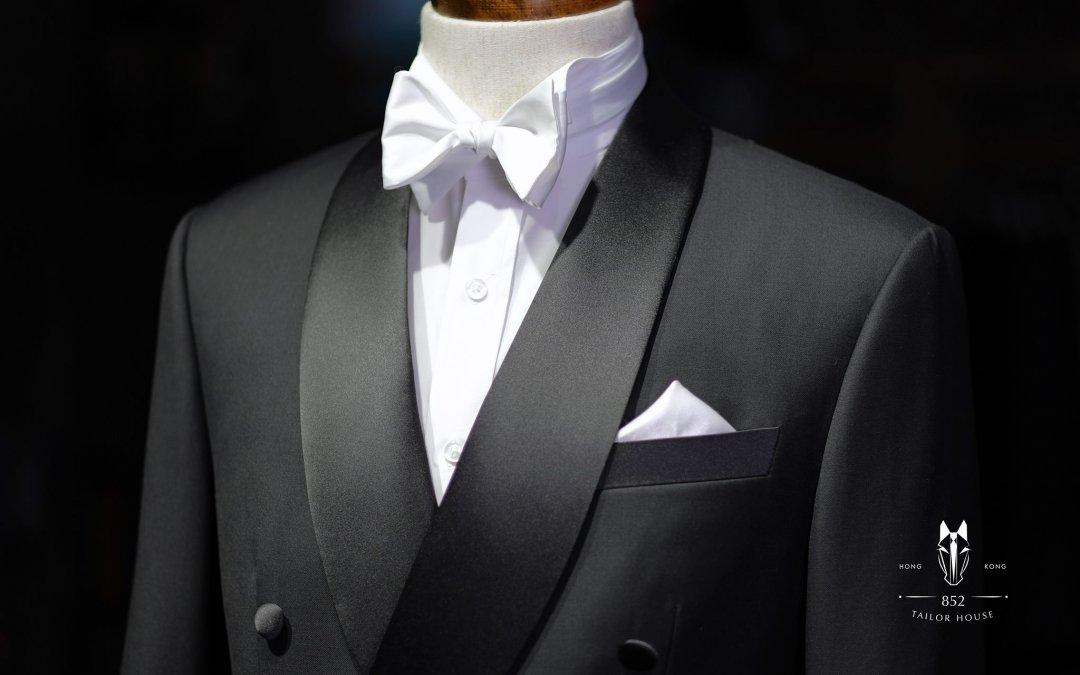 【禮服誘惑】純黑色孖襟 – 高貴大方既選擇