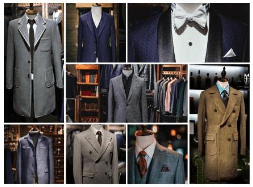 【同件衫神交?】 — 傳統洋服行只能靠口述西裝布料 , 款式