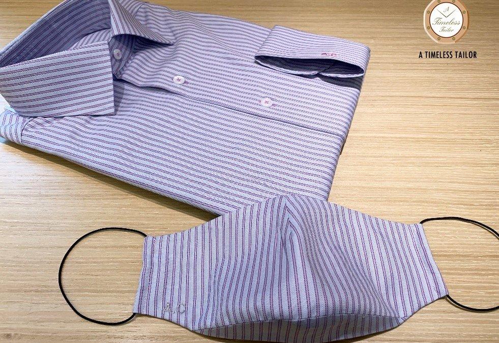 【裝飾/實用?】— 恤衫料都可以造口罩?