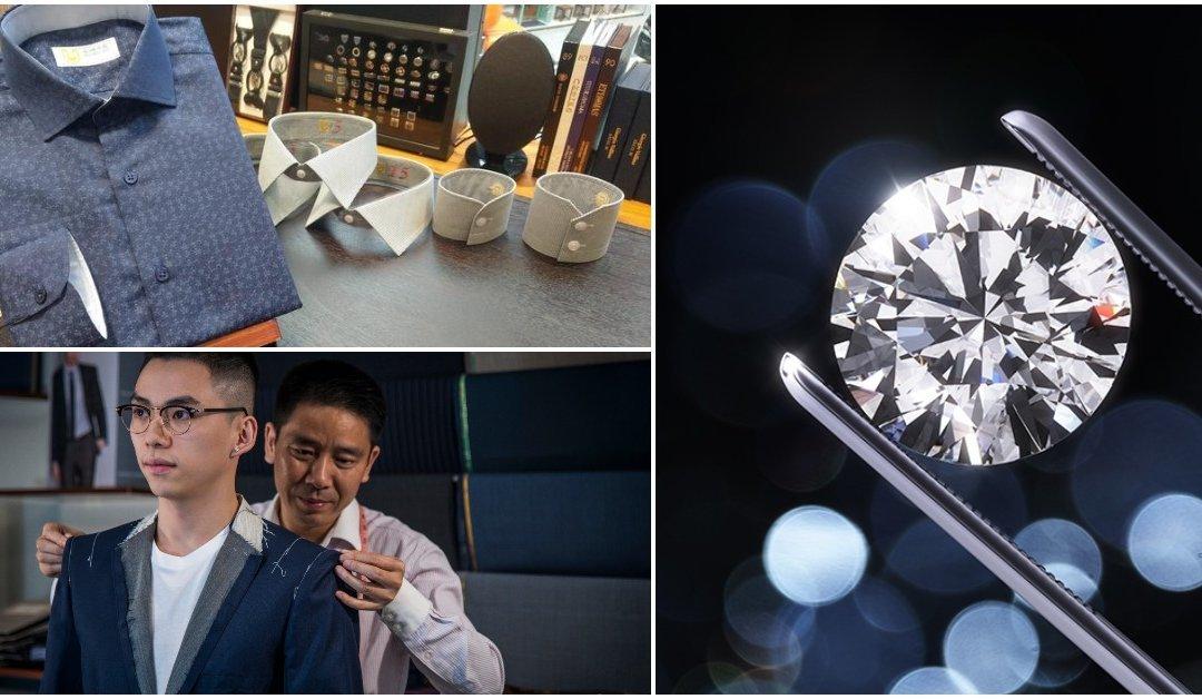【Tailor-M會員積分獎賞】— 預約指定商戶購物 送西裝 又送鑽石!